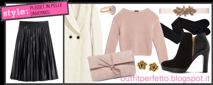 half off 812ba b3af0 Outfit Perfetto: Come abbinare una GONNA PLISSETTATA (outfit ...