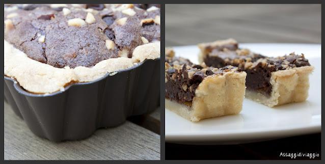 Crostata brownies di Luca Montersino