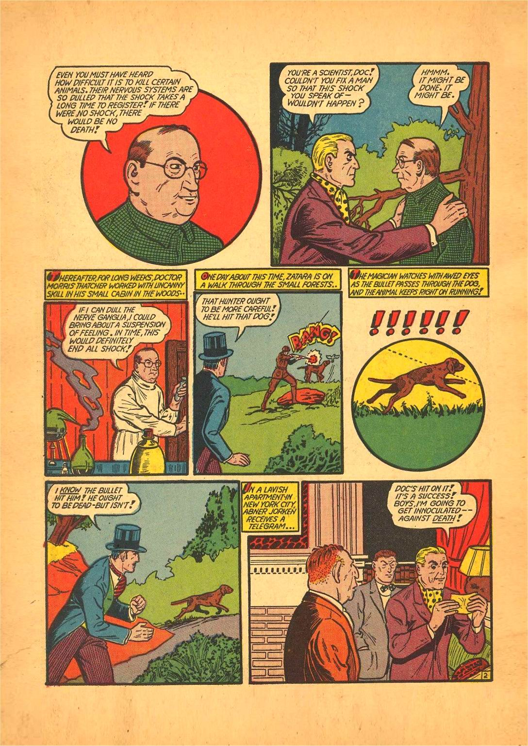 Read online Action Comics (1938) comic -  Issue #50 - 66