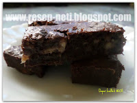 Resep Brownies Pisang ( Bananas Brownies Recipe )