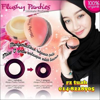 flushy panties intimate perfume promosi