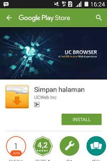 Tutorial Menyimpan Halaman di UC Browser 21