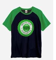 Kaos Anak Muslim-100% Muslim Garantie