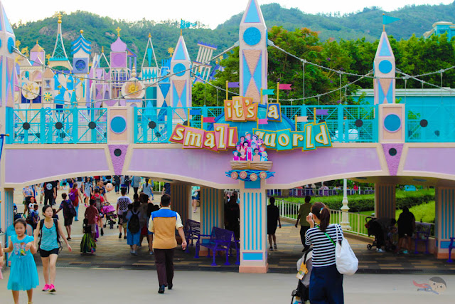 It's a Small World in Disneyland Hong Kong