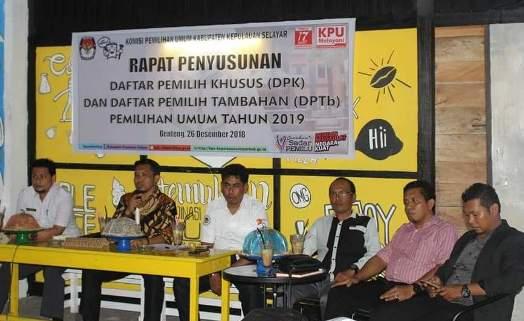 KPU Kep. Selayar, Tetap Akomodir Pemilih Tidak Terdafar di DPT