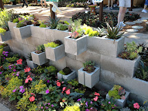 Seeking Greener Thumb Cinder Block Succulent Planter