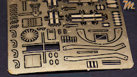 Arado Ar 234 B-2N, 1/32 Fly models 32008, inbox review - photo etched details