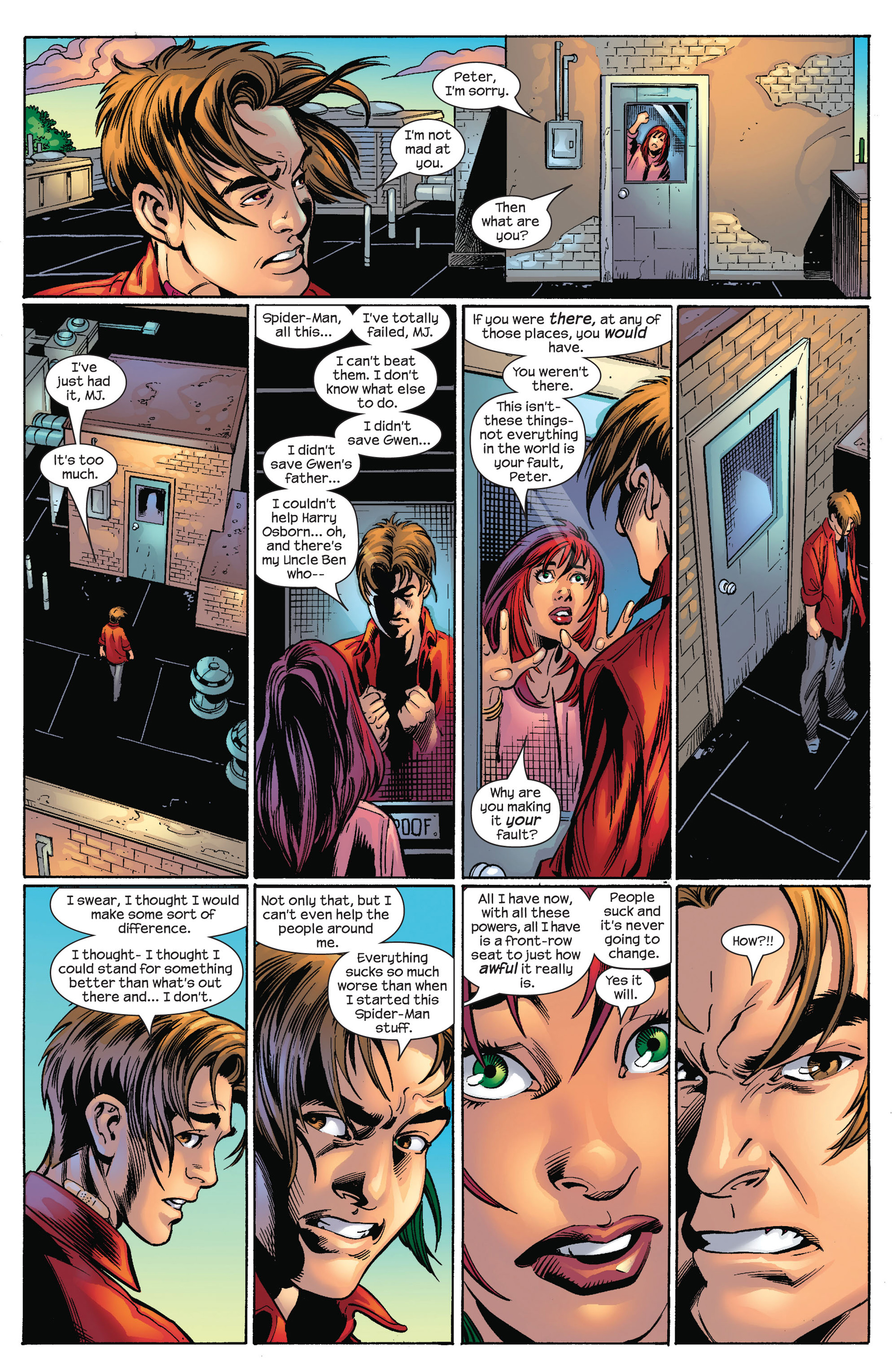 Read online Ultimate Spider-Man (2000) comic -  Issue #65 - 15