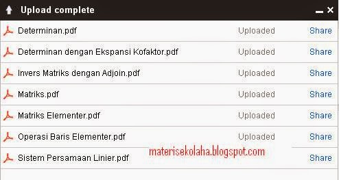 Aljabar Linear Pdf