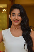 Daksha Nagarkar Cute Beauty in Sleeveless White Dress at Khwaaish Exhibition Launch 2017 ~  Exclusive 083.JPG