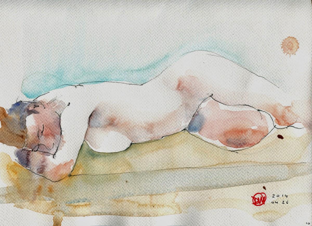 Nude by David Meldrum