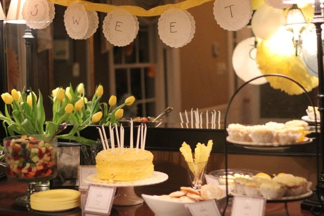 Our Life In A Click Entertaining Grey Amp Yellow Party