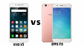 Perbandingan Vivo V5 vs OPPO F1s: Bagus Mana?