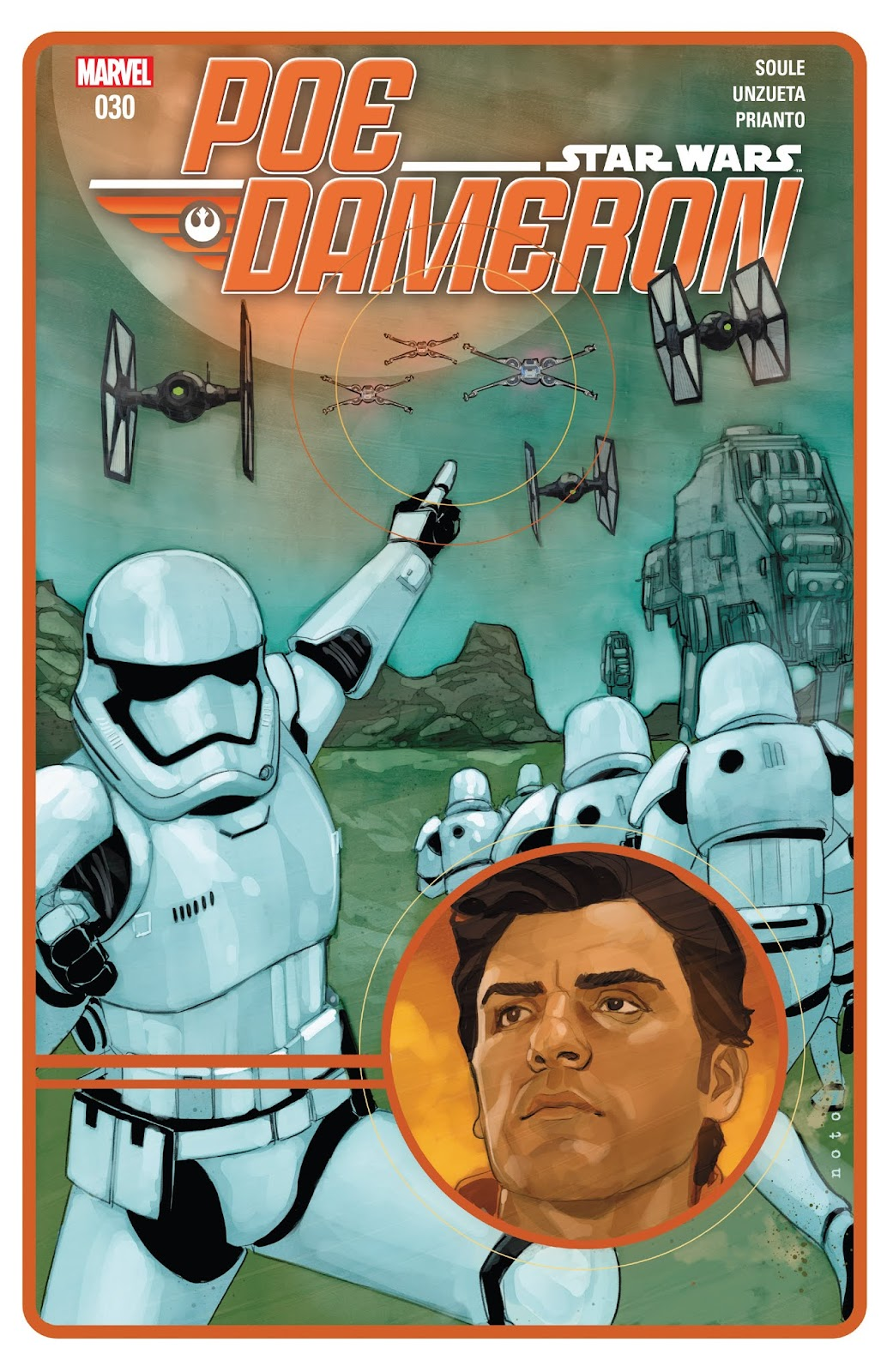 Star Wars: Poe Dameron issue 30 - Page 1