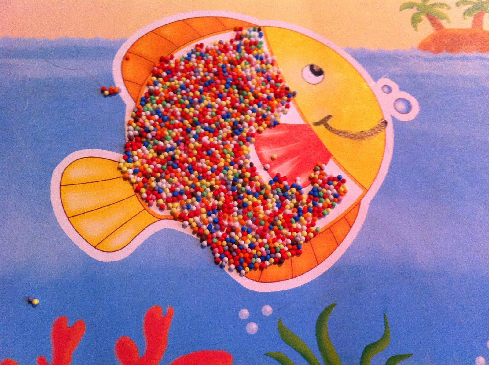 Pesce arcobaleno da colorare - Arcobaleno a colori e stampa ...