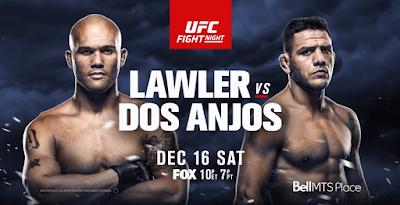 Ver UFC on Fox 26: Lawler vs dos Anjos En vivo 16/12/2017