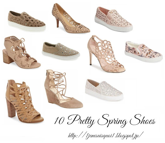 10 Pretty Spring Shoes (Most Under $100)