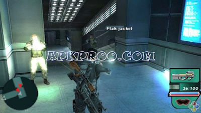 Game Syphon Filter: Dark Mirror (USA) PPSSPP ISO Save Data Ukuran Kecil