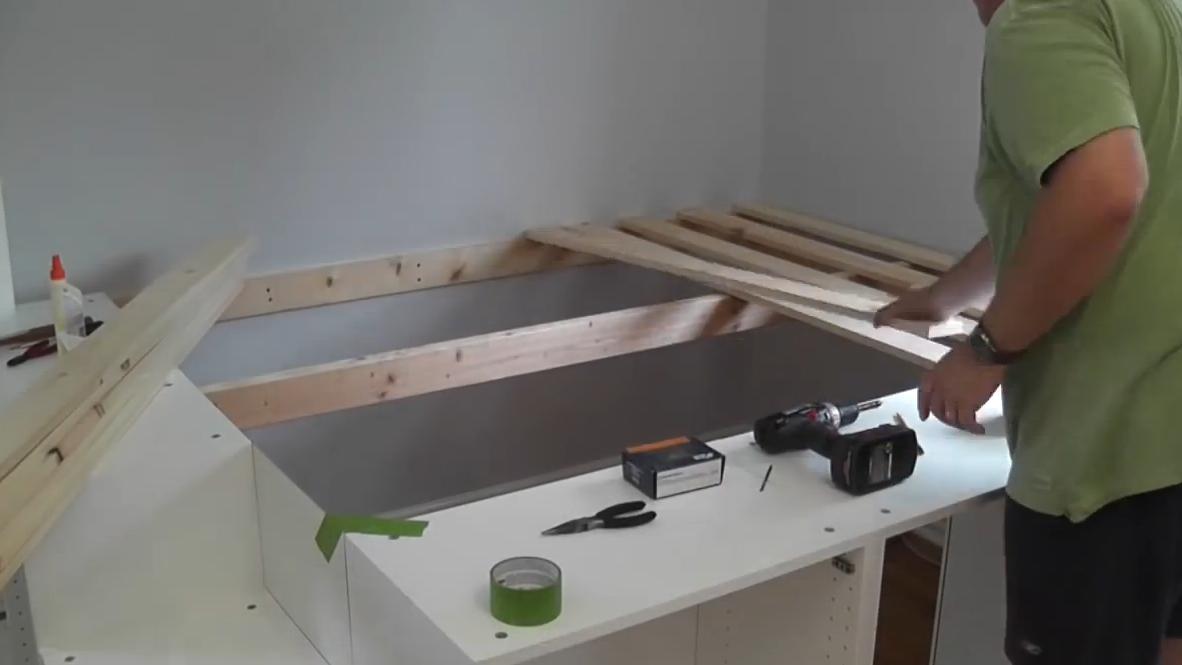 ikea bett hack die. Black Bedroom Furniture Sets. Home Design Ideas