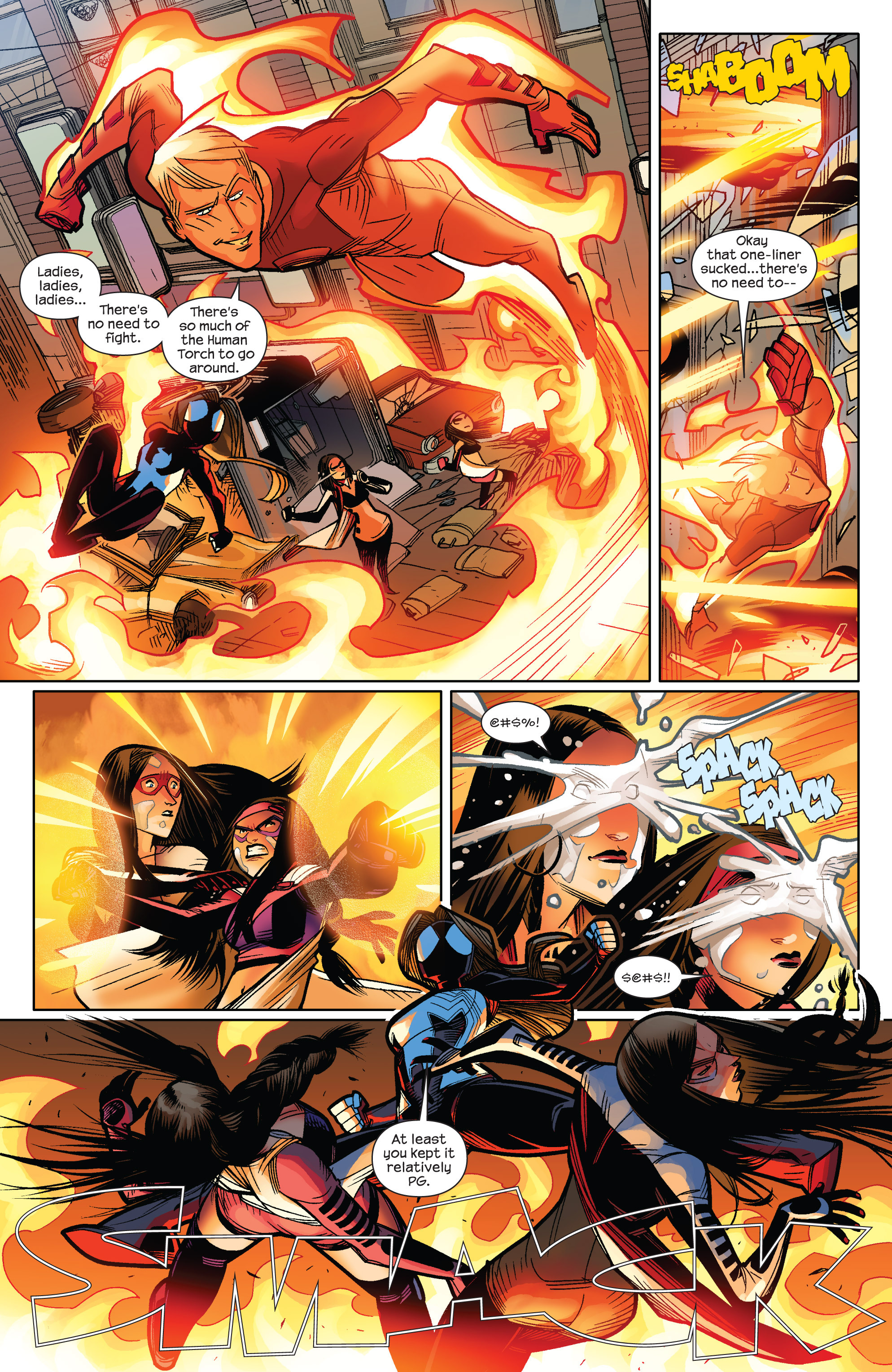 Read online Ultimate Spider-Man (2009) comic -  Issue #9 - 6