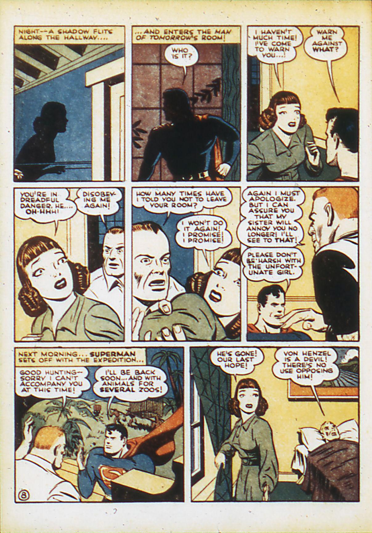 Action Comics (1938) 45 Page 10