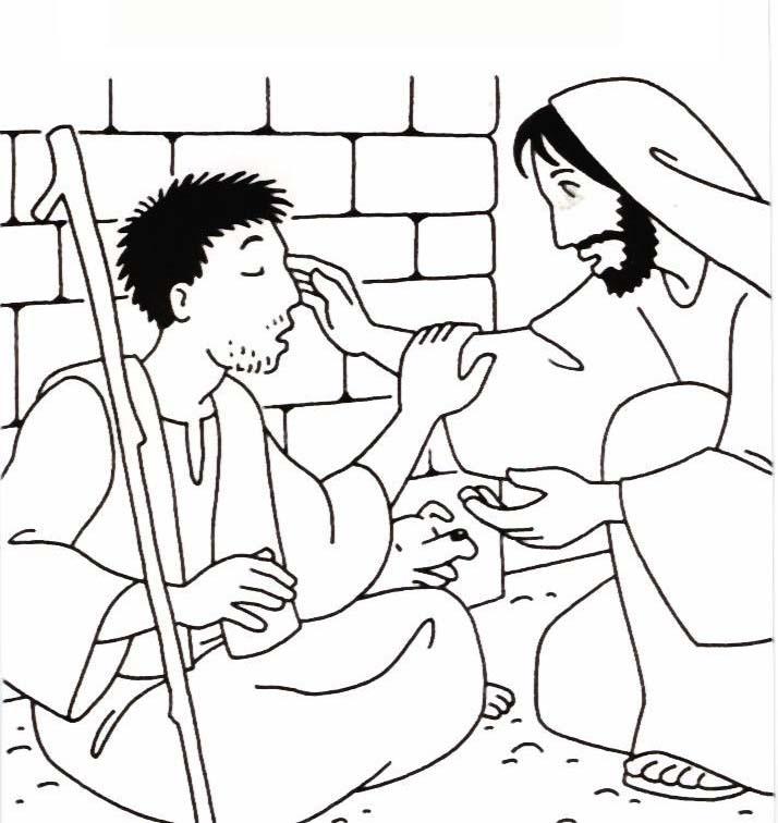 Jesus cura homem cego de nascenccedila - 4 5