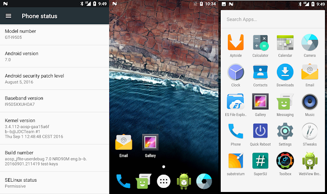 How to Download and Install Android 7.0 Nougat (AOSP) on Samsung Galaxy S4