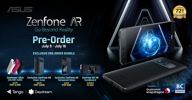 Zenfone AR Philippines Pre-order
