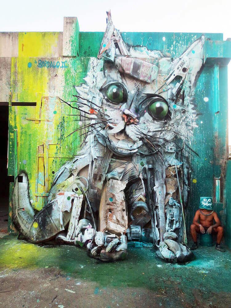 Artur Bordalo | Bordalo II Arte Art