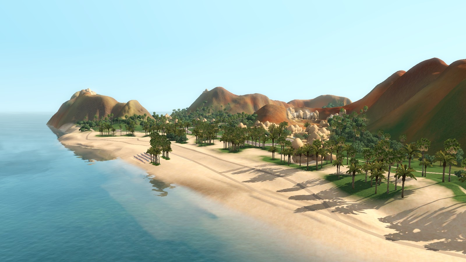 Cink's Sims : Desert Streets - download