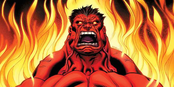 red hulk adalah musuh terkuat hulk marvel