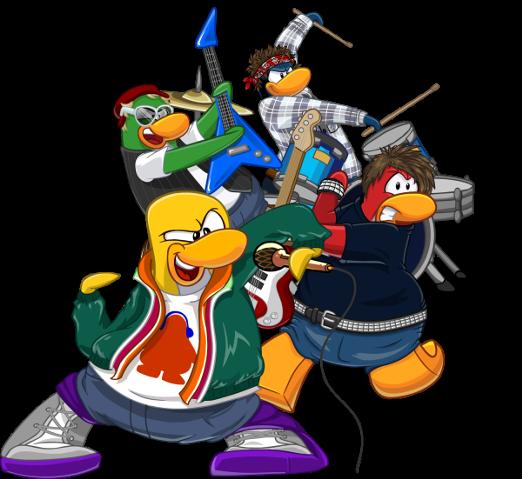 Ondas Do CP Club Penguin Island