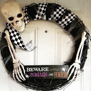 refabulous halloween wreath, pinterest fail