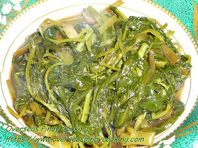 Adobong Kangkong Recipe