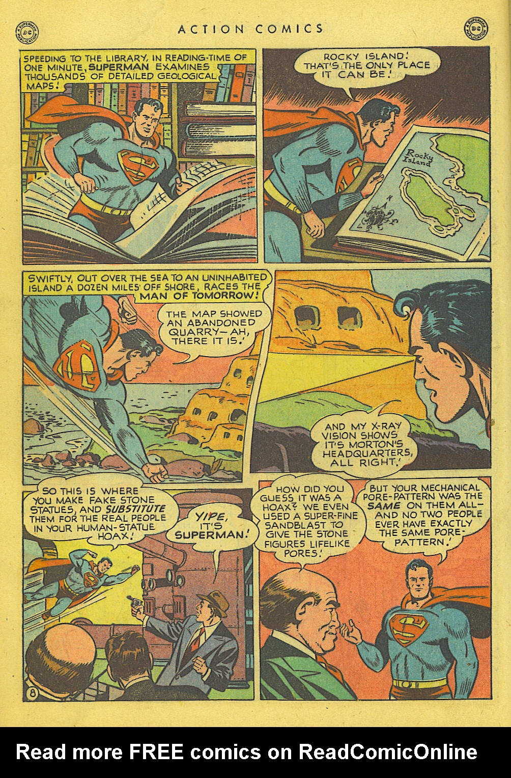 Read online Action Comics (1938) comic -  Issue #135 - 9