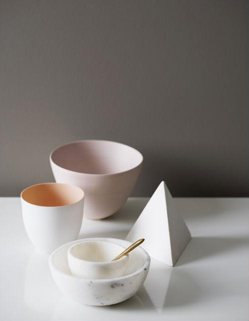 Marmorschalen Schalen