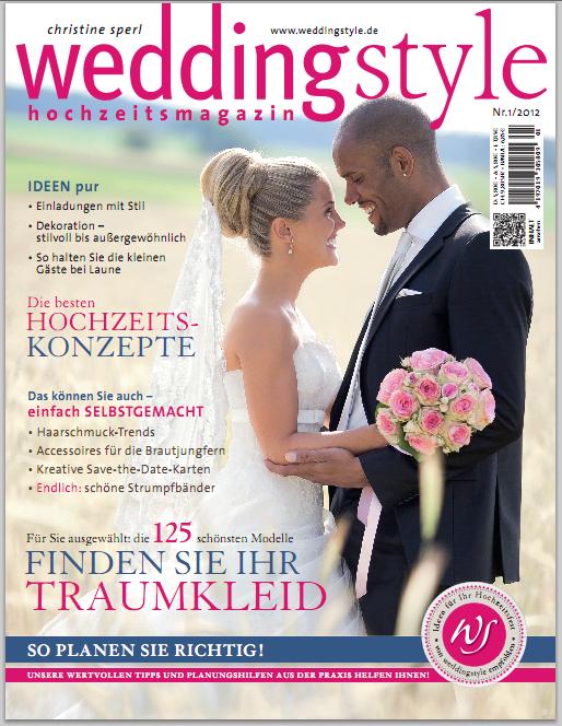 StarCards Redaktioneller Beitrag in der Zeitschrift Weddingstyle