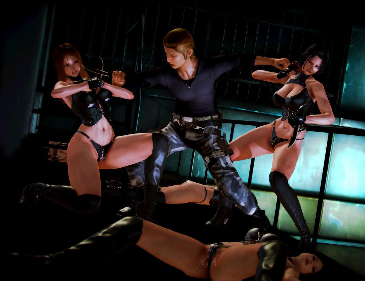 Hình ảnh 001 in Truyện Hentai 3D Nữ chiến binh Ryona
