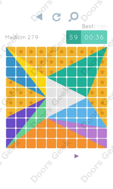 Cheats, Walkthrough for Blocks and Shapes Medium Level 279
