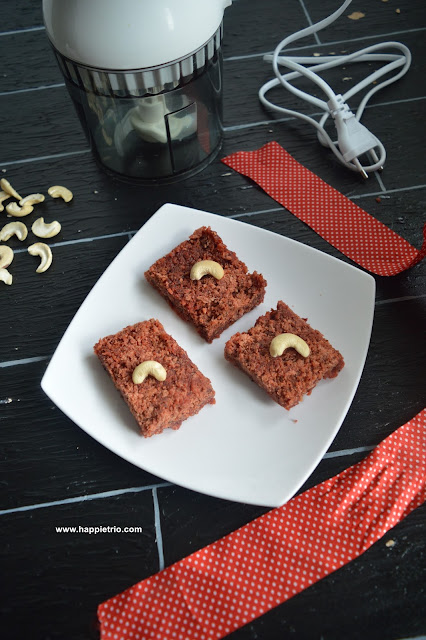 Beetroot Coconut Burfi Recipe