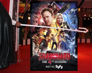Sharknado 4 tired sequel bad shark movie SyFy
