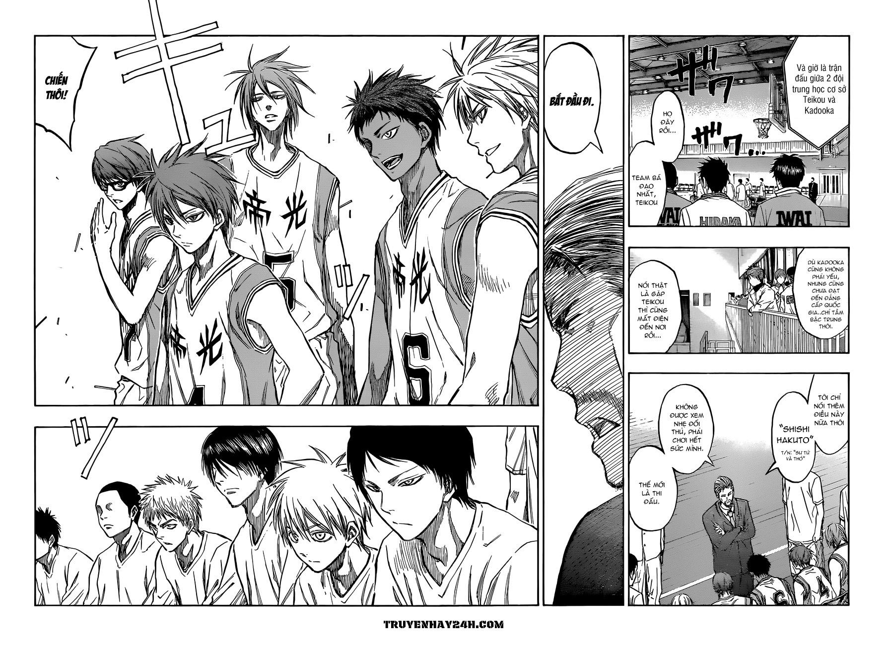 Kuroko No Basket chap 213 trang 14