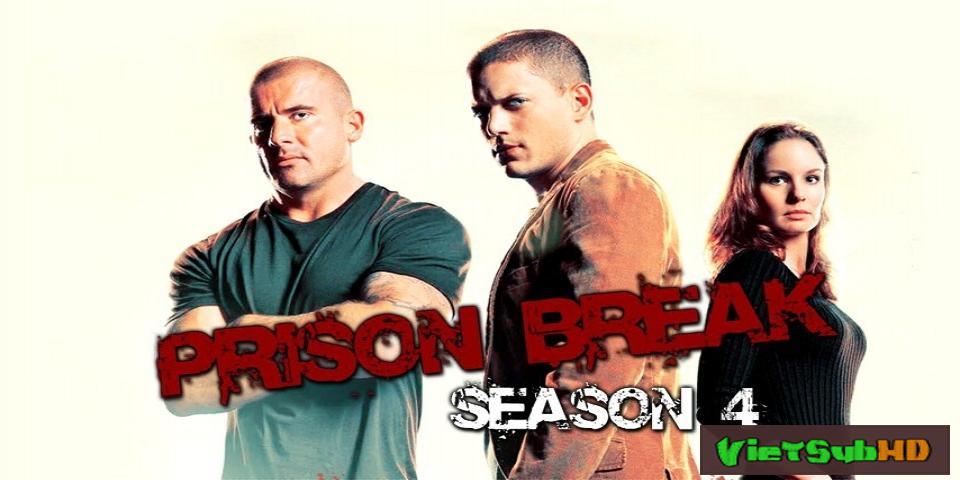 Phim Vượt Ngục Phần 4 Hoàn tất (22/22) VietSub HD | Prison Break Season 4 2008