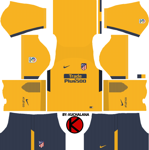 Atletico Madrid Dream League Soccer Kits 2017 18 - Kuchalana 9f64e37e3