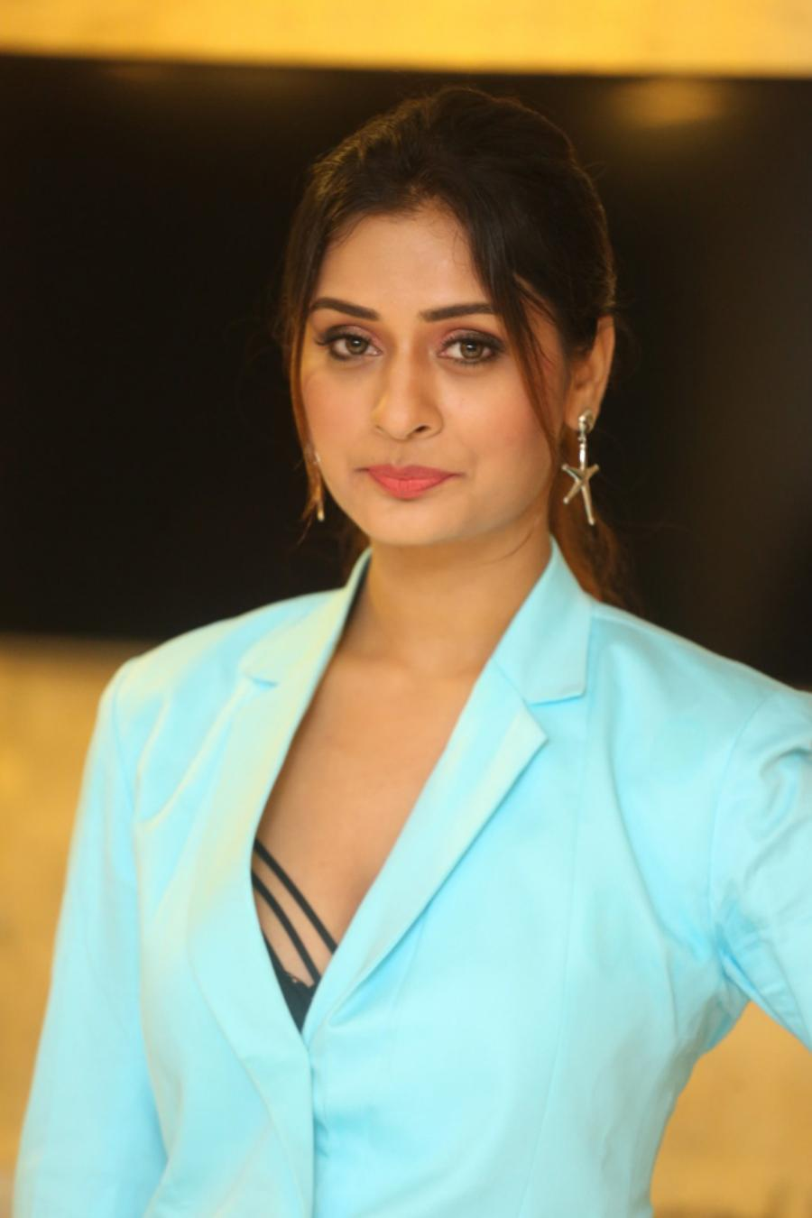 South Indian Actress Payal Rajput at RDX Love Pre-Release Event
