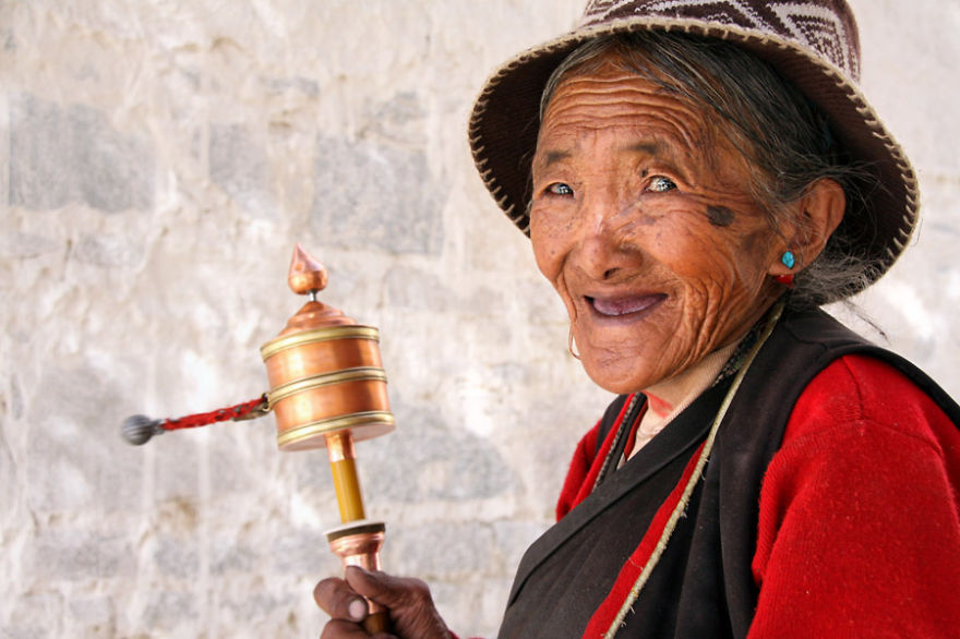 Tibet, 2010 -  I Spent 10 Years Traveling Around The World Shooting People And Places
