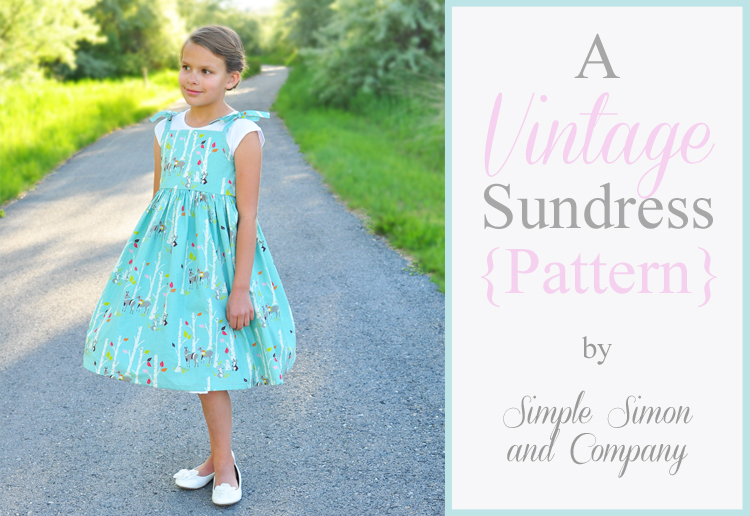 The Vintage Sundress Pattern - Simple Simon and Company