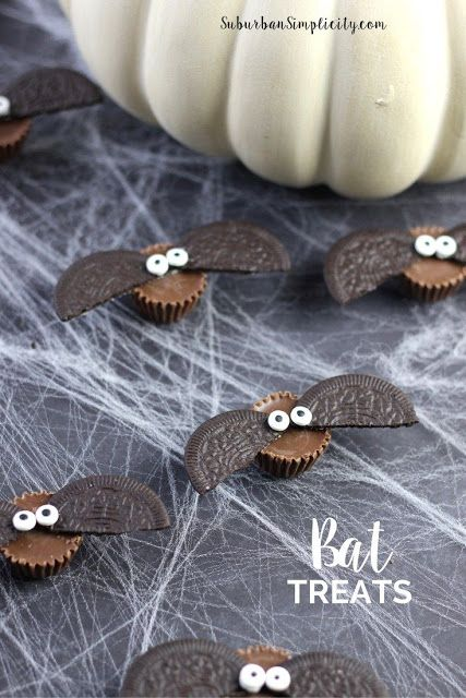 Cute Bat Treats for Halloween