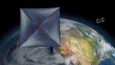 ¿Es oumuamua una vela solar?La tecnología de la vela solar ya está en uso