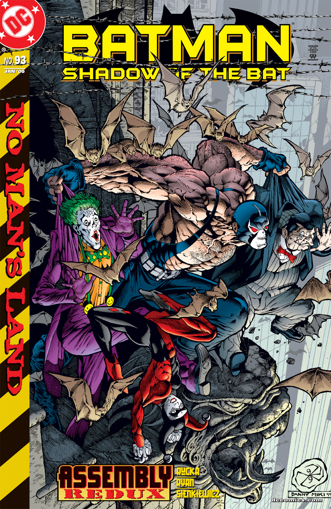Batman: Shadow of the Bat 93 Page 1